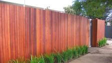 Rough Jarrah fences