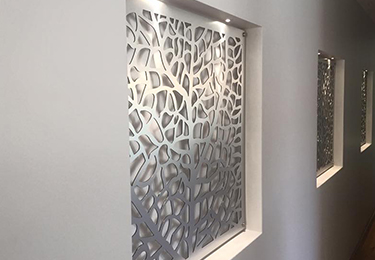 Aluminium Laser Cut Screens Perth