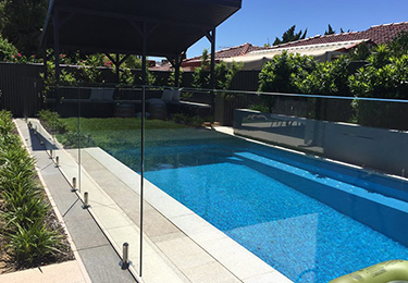 Frameless Pool Fencing Perth