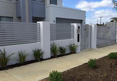 Louvers Aluminium Slat Fencing Perth