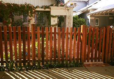 Jarrah Timber Fencing Perth