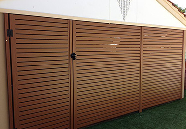Automated Slatted Gates Perth