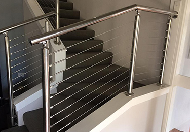 Stainless Steel Wire Rope Balustrades