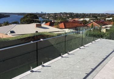 frameless balustrades perth