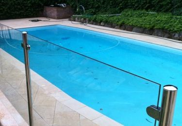 stainless steel pool fencing